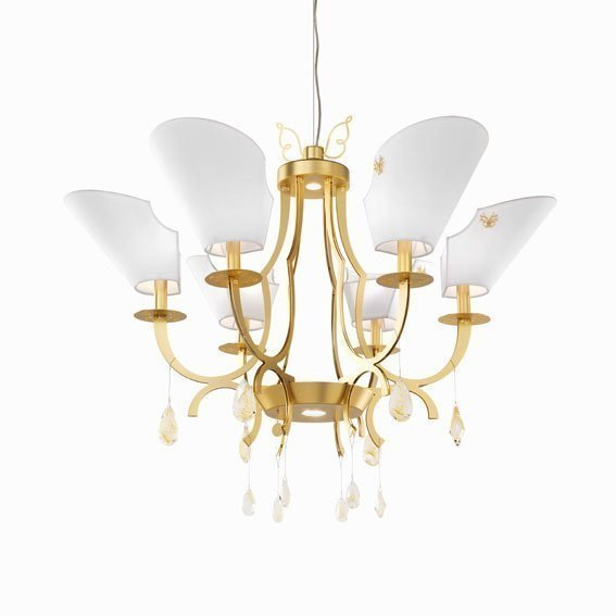 Люстра Beby Group Epoque 0185B03 Satin gold 024 Yellow