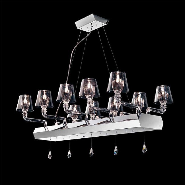 Люстра Beby Platinum 0140B09 Chrome SW Silver Night