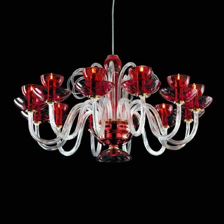 Люстра Beby Group Nuovo Vintage 340/12 Red